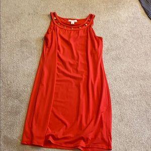 White house black market  coral dress